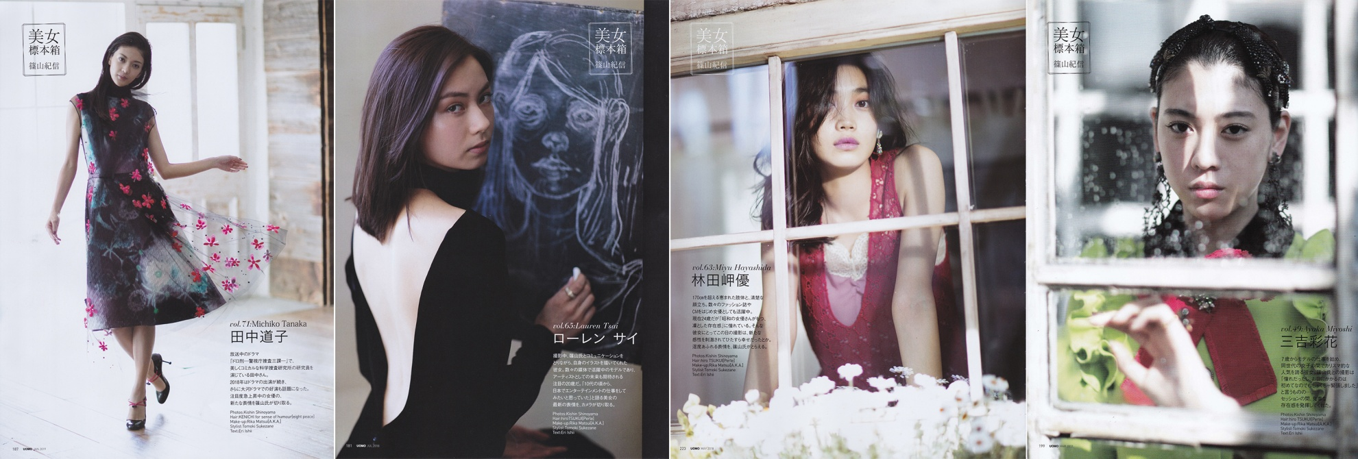 UOMO / 篠山紀信
