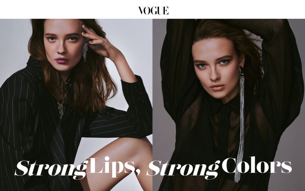 VOGUE Japan web 2020 Jan / LUNASOL
