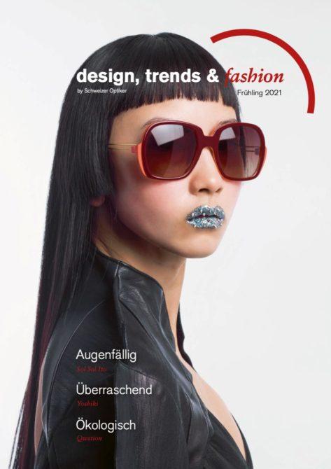 design trends & fashion magazine 2021cover