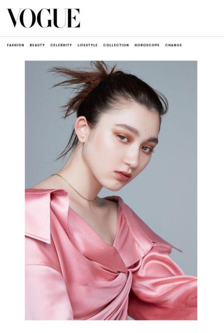 VOGUE JAPAN ウェブサイト_2021年8月